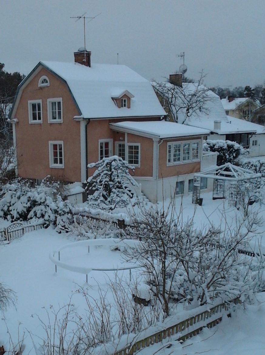 Vinter i kvarteret Sprätthöken