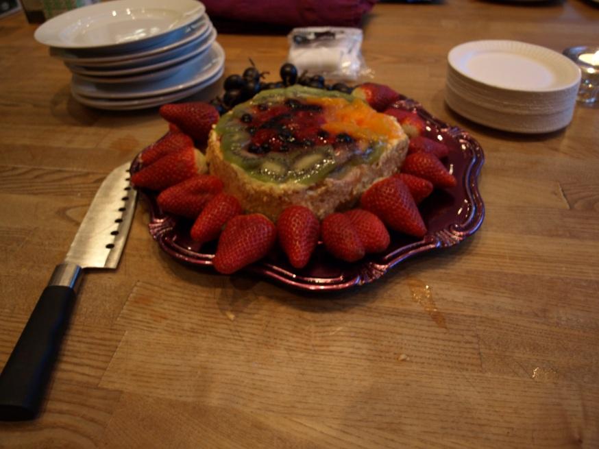 Tårta på gymet