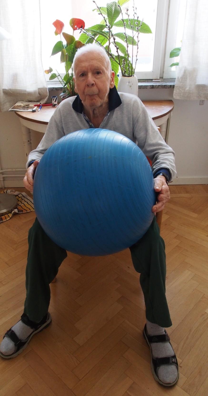 Övningar för en strokedrabbad