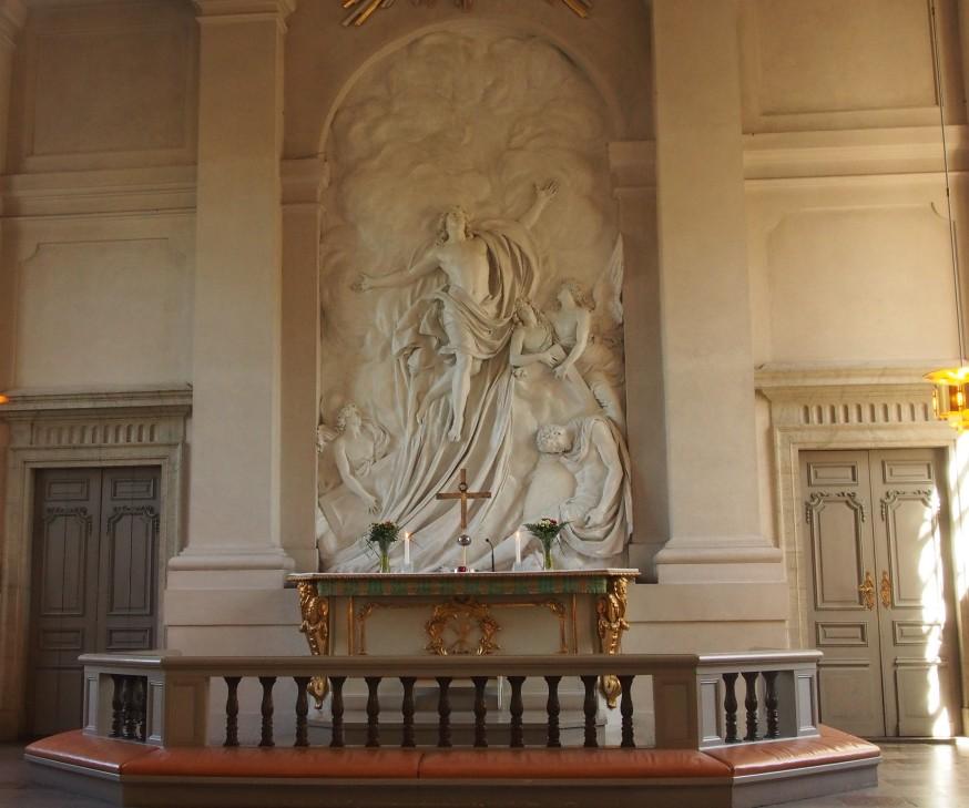 Adolf Fredriks kyrka - Altartavlan