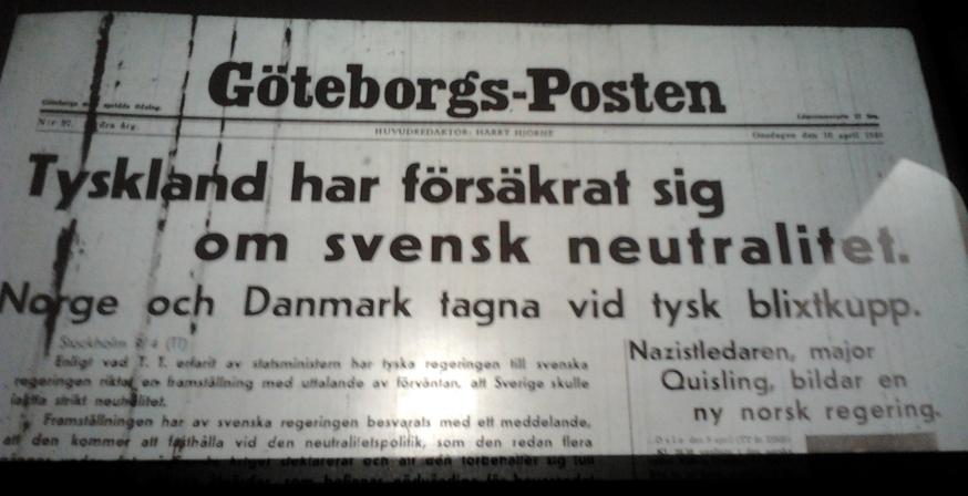 Göteborg omsdagen den 10 april 1940 – ransonering på socker