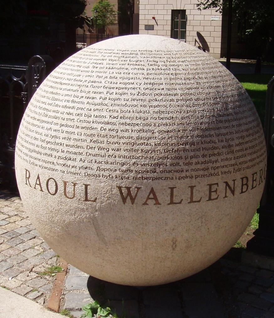 Raul Wallenberg samt Theodor Herzl och hans kontakter med kristendomen