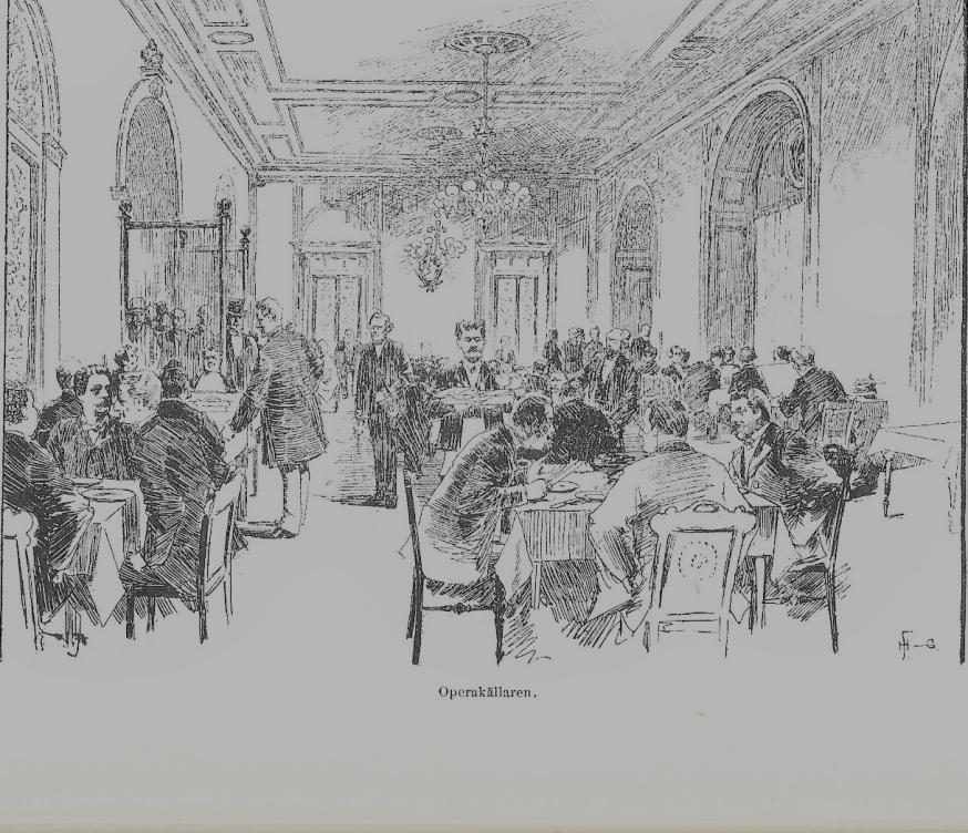 operakällaren 1880-tal
