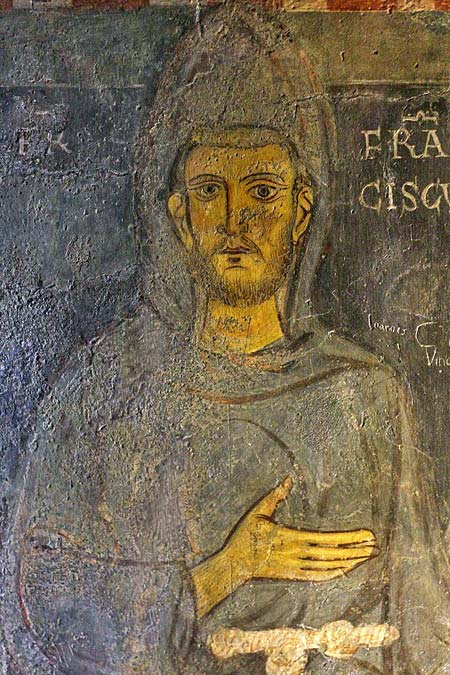 St. Francis. Sacro Speco at Subiaco. c.1224 or 1228
